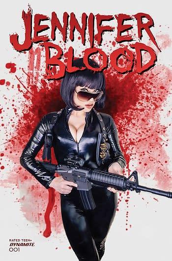 Cover image for JENNIFER BLOOD #1 CVR E COSPLAY (MR)