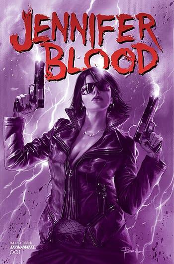 Cover image for JENNIFER BLOOD #1 CVR G 10 COPY INCV PARRILLO TINTED (MR)