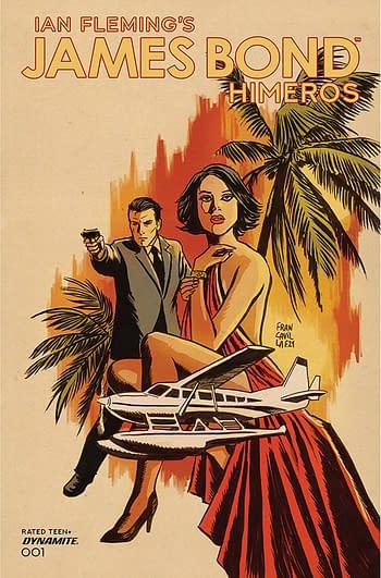 Cover image for JAMES BOND HIMEROS #1 CVR A FRANCAVILLA