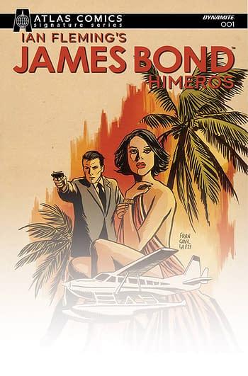 Cover image for JAMES BOND HIMEROS #1 CVR E FRANCAVILLA SGN ATLAS ED