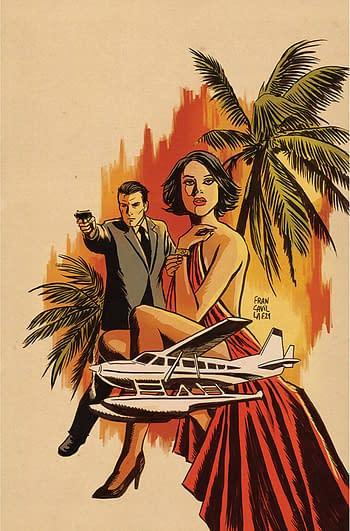 Cover image for JAMES BOND HIMEROS #1 CVR F FRANCAVILLA LTD VIRGIN