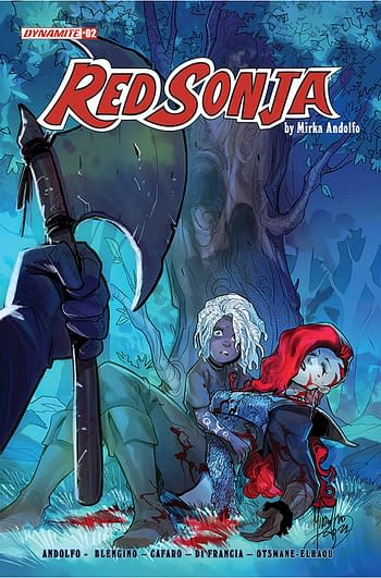 Cover image for RED SONJA (2021) #2 CVR A ANDOLFO