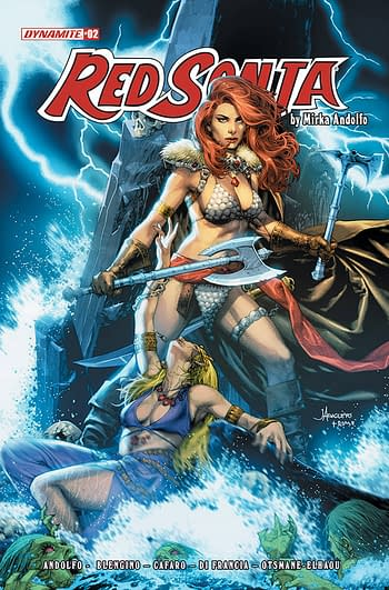 Cover image for RED SONJA (2021) #2 CVR B ANACLETO