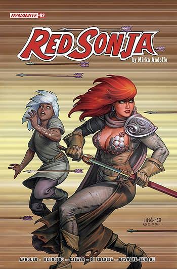 Cover image for RED SONJA (2021) #2 CVR C LINSNER