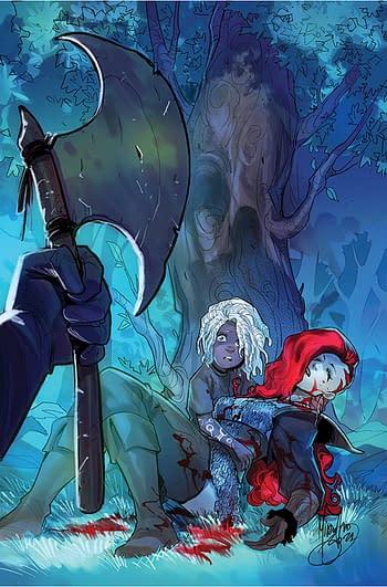 Cover image for RED SONJA (2021) #2 CVR K ANACLETO LTD VIRGIN