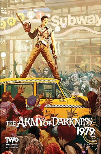 Cover image for ARMY OF DARKNESS 1979 #2 CVR B SUYDAM