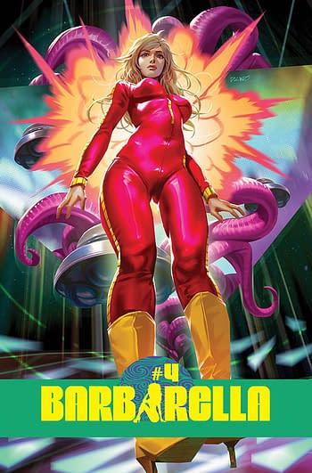Cover image for BARBARELLA #4 CVR B CHEW