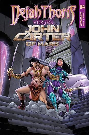 Cover image for DEJAH THORIS VS JOHN CARTER OF MARS #4 CVR C MIRACOLO
