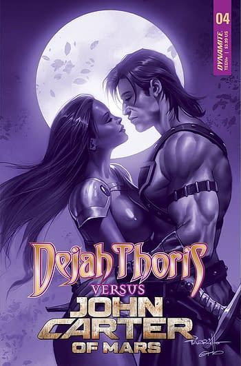 Cover image for DEJAH THORIS VS JOHN CARTER OF MARS #4 CVR F 15 COPY INCV PA