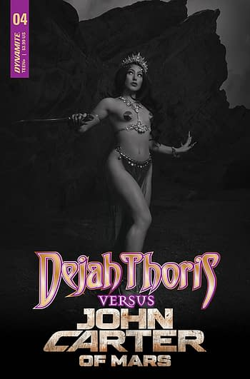 Cover image for DEJAH THORIS VS JOHN CARTER OF MARS #4 CVR G 20 COPY INCV CO