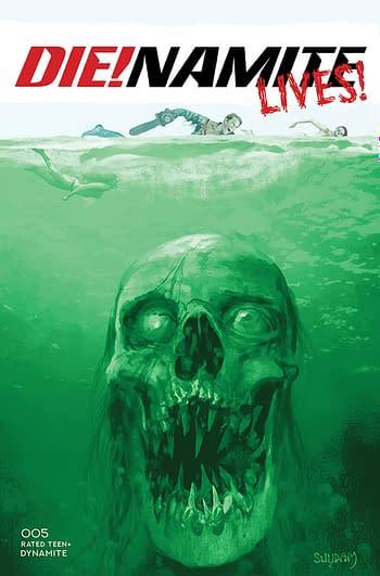 Cover image for DIE!NAMITE LIVES #5 CVR B SUYDAM