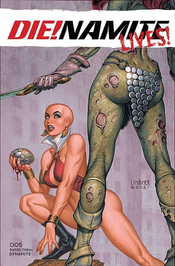 Cover image for DIE!NAMITE LIVES #5 CVR C LINSNER