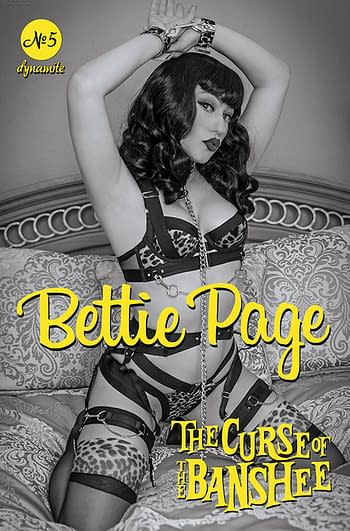 Cover image for BETTIE PAGE & CURSE OF THE BANSHEE #5 CVR G 15 COPY INCV COS