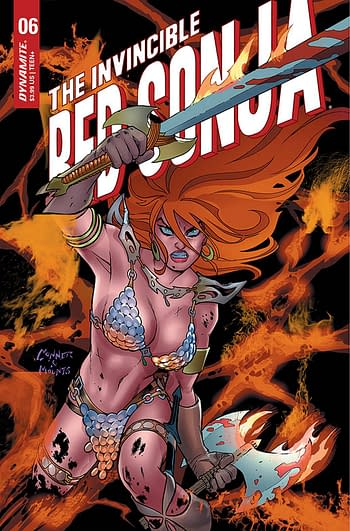 Cover image for INVINCIBLE RED SONJA #6 CVR A CONNER