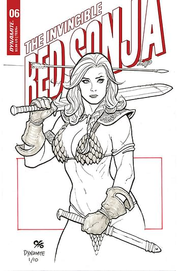 Cover image for INVINCIBLE RED SONJA #6 CVR D CHO