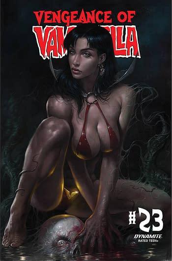 Cover image for VENGEANCE OF VAMPIRELLA #23 CVR A PARRILLO