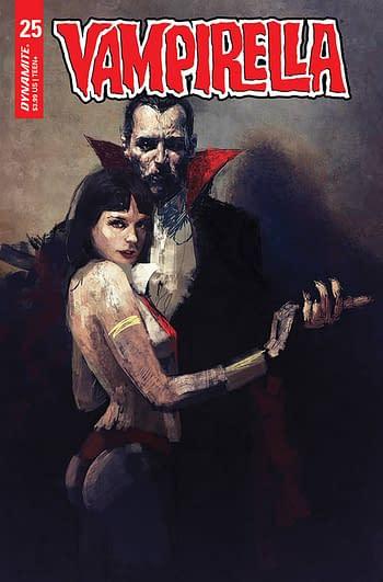 Cover image for VAMPIRELLA #25 CVR K 15 COPY INCV MASTRAZZO HOMAGE