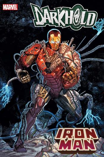 Ryan North & Guillermo Sanna Create a Darkhold Body-Horror Iron Man