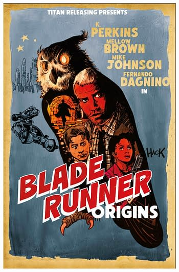 Cover image for BLADE RUNNER ORIGINS #8 CVR C HACK (MR)