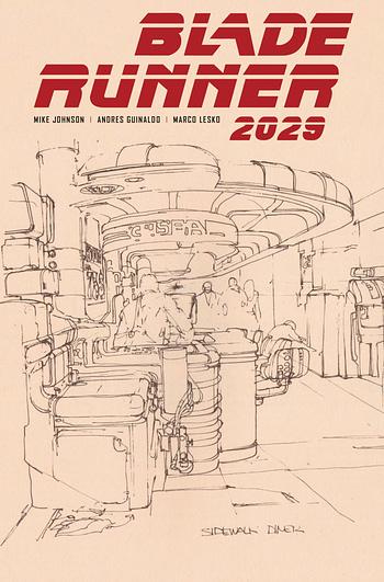 Cover image for BLADE RUNNER 2029 #9 CVR B MEAD (MR)