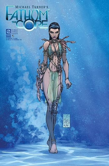 Cover image for FATHOM THE CORE #1 CVR C TURNER
