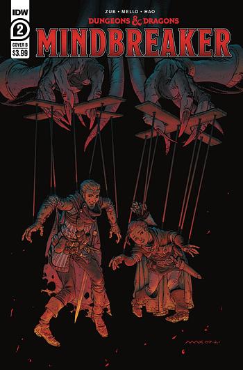 Cover image for DUNGEONS & DRAGONS MINDBREAKER #2 (OF 5) CVR B DAVENPORT