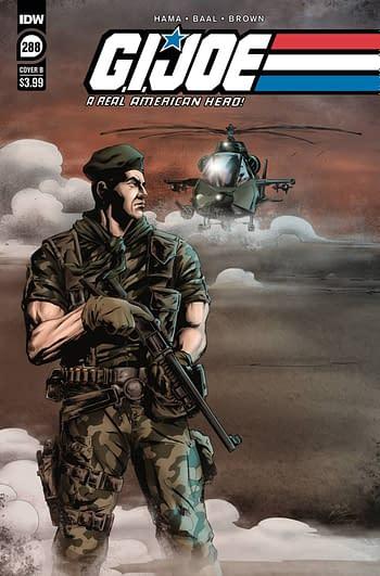 Cover image for GI JOE A REAL AMERICAN HERO #288 CVR B BAAL