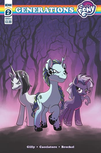 Cover image for MY LITTLE PONY GENERATIONS #2 CVR A CACCIATORE