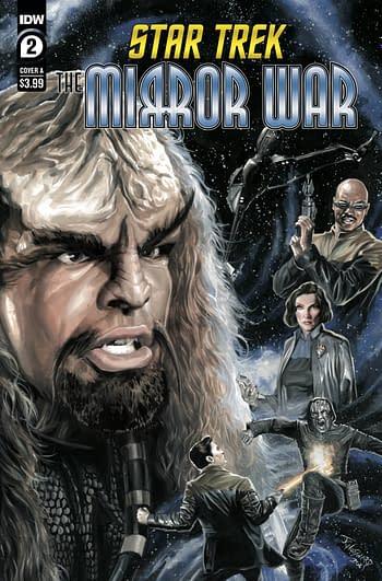 Cover image for STAR TREK MIRROR WAR #2 (OF 8) CVR A WOODWARD
