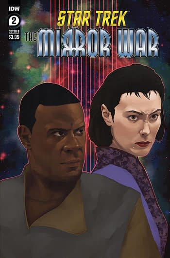 Cover image for STAR TREK MIRROR WAR #2 (OF 8) CVR B MADRIAGA