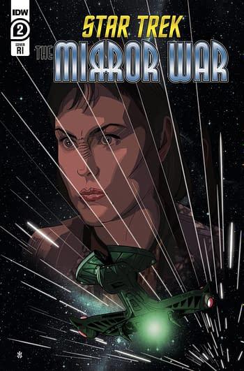 Cover image for STAR TREK MIRROR WAR #2 (OF 8) CVR C 15 COPY INCV ALVARADO (