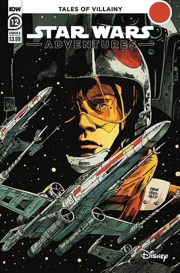 Cover image for STAR WARS ADVENTURES (2021) #12 CVR A FRANCAVILLA