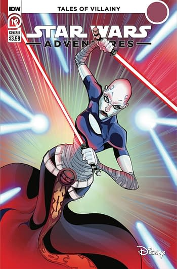 Cover image for STAR WARS ADVENTURES (2021) #12 CVR B GRIFFITH