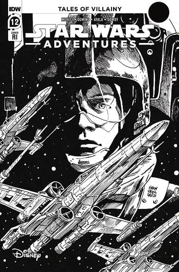 Cover image for STAR WARS ADVENTURES (2021) #12 CVR C 10 COPY INCV FRANCAVIL