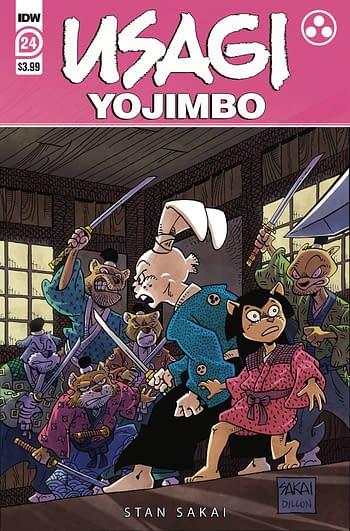 Cover image for USAGI YOJIMBO #24 CVR A SAKAI