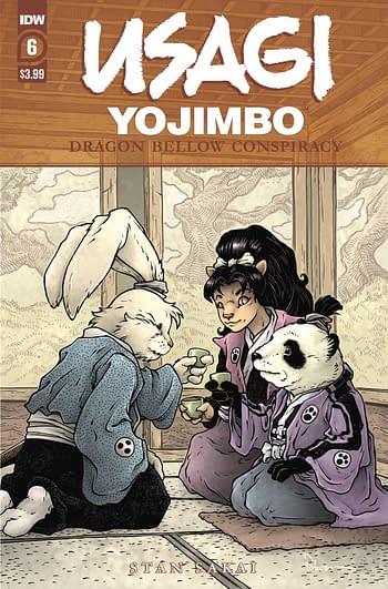 Cover image for USAGI YOJIMBO DRAGON BELLOW CONSPIRACY #6 (OF 6)