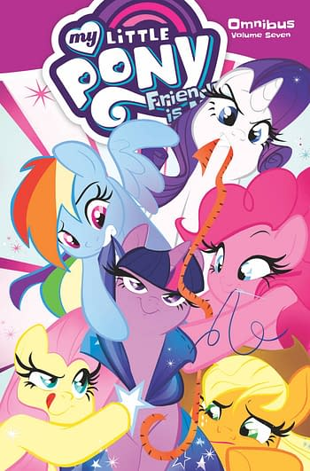 Cover image for MY LITTLE PONY OMNIBUS TP VOL 07