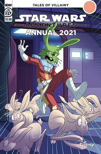 Cover image for STAR WARS ADVENTURES ANNUAL 2021 CVR A FLOREAN