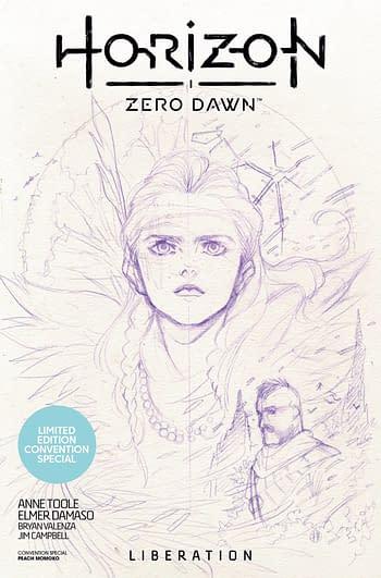 Cover image for HORIZON ZERO DAWN LIBERATION CON SP ED