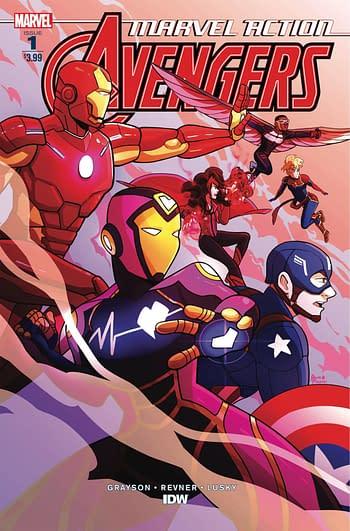 Marvel Comics Cancels The IDW Marvel Action Line