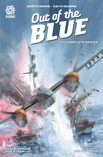 Cover image for OUT OF THE BLUE COMP TP
