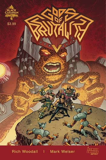 Cover image for GODS OF BRUTALITY #4 (OF 4)