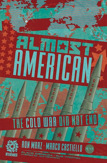 Cover image for ALMOST AMERICAN #4