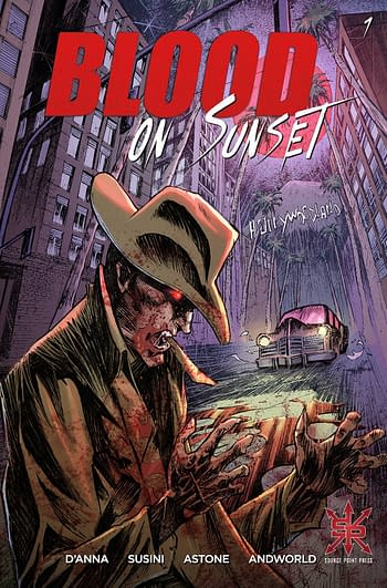 Cover image for BLOOD ON SUNSET #1 (OF 5) CVR A SUSINI (MR)