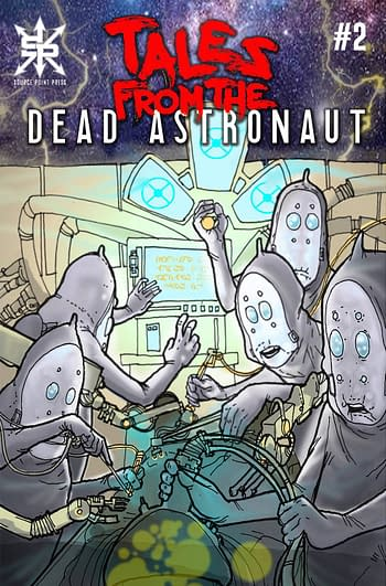 Cover image for TALES FROM THE DEAD ASTRONAUT #1 (OF 3)
