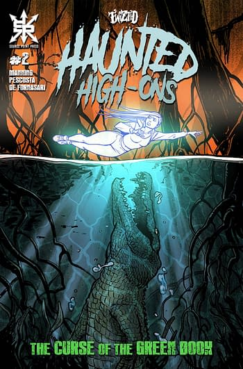 Cover image for TWIZTID HAUNTED HIGH ONS CURSE OF GREEN BOOK #2 (OF 4) CVR A