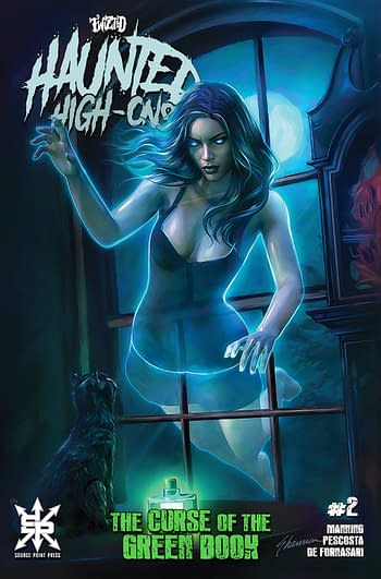 Cover image for TWIZTID HAUNTED HIGH ONS CURSE OF GREEN BOOK #2 (OF 4) CVR B