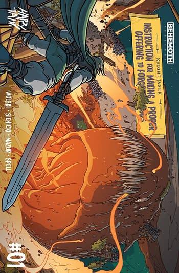 Cover image for KNIGHT JANEK #1 (OF 3) CVR C WOLSKI (MR)