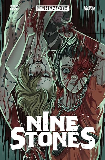 Cover image for NINE STONES #5 CVR B SPANO (MR)