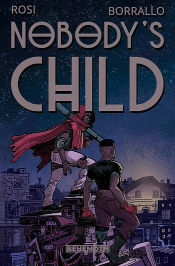 Cover image for NOBODYS CHILD #4 (OF 6) (MR)